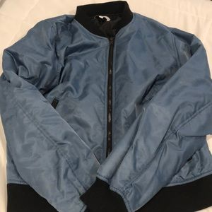 blue bomber jacket- kendell and kylie collection